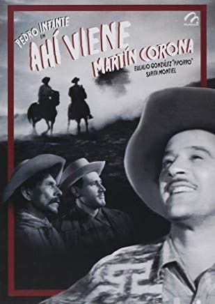 Dvd Ahi Viene Martin Corona