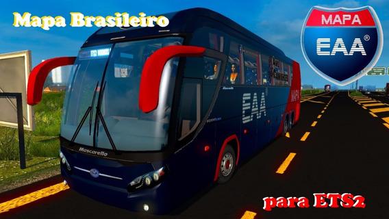 Mapa Brasileiro De Ônibus Para Euro Truck Simulator 2
