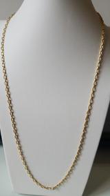 Corrente Masculina 60cm Ouro 18k 750