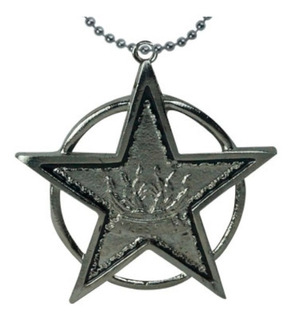 Caballeros Del Zodiaco Collar Llavero Estrella Hades Shun