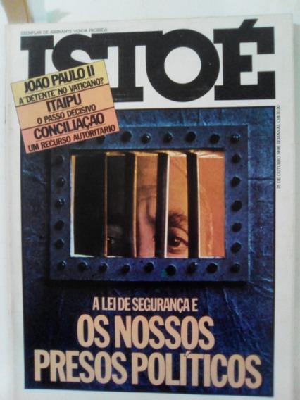 Revista Istoé 96 Preso Politico Papa João Itaipu Janio 1978