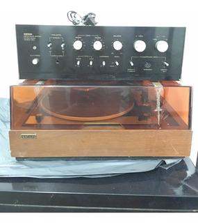 Amplificador Sansei 440a Y Bandeja Sansei