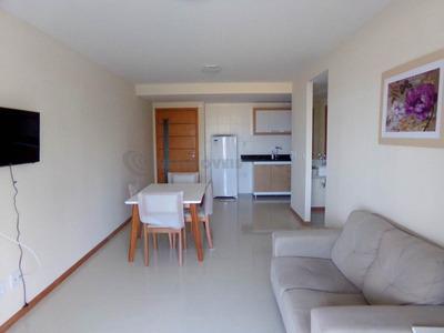 Apartamento 1 Quarto, Vista Mar, Andar Alto - Armação.664518