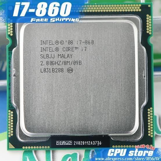 Processador Intel Core I7 860 Lga 1156 2 8ghz 8mb Cache