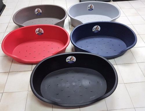 Cama Plastica Perros, Moderna 81x54x24 Cms