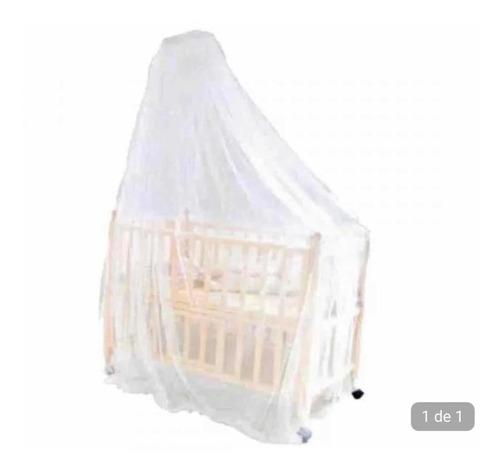 Imagem 1 de 2 de Mosquiteiro Proteção Pernilongo Para Cercado Ou Berço Bebê