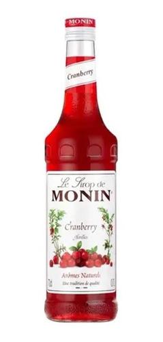Imagem 1 de 1 de Xarope Para Drinks E Gin Monin Cramberry 700ml