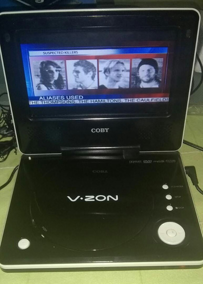 Dvd Portable Coby 7