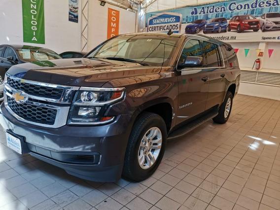 Chevrolet Suburban 5.4 Lt Piel Cubo At 2017