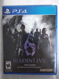 Resident Evil 6 Ps4 Juego Fisico Usado Envios Sevengamer
