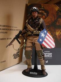 Hot Toys Captain America Rescue Uniform First Avenger