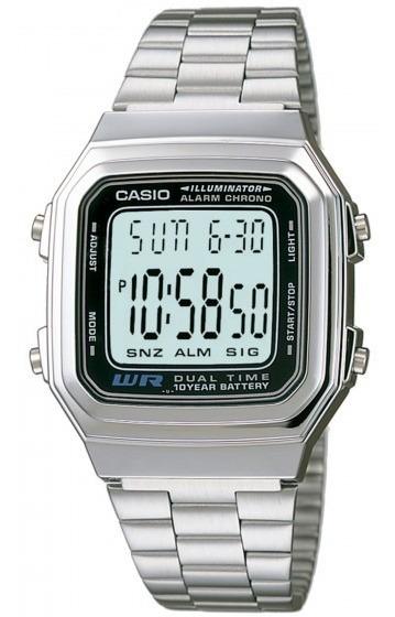 Relógio Casio A178wa-1adf Unissex Prata - Refinado