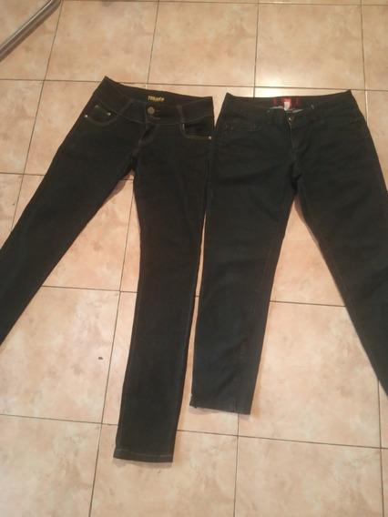 Pantalones Jean En Perfecto Estado Talla 8-10 15 V