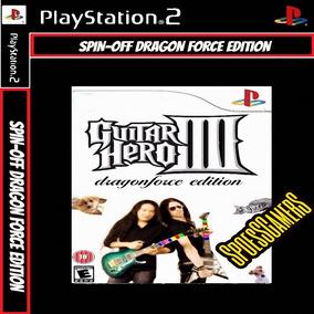 Guitar Hero 3 Iii Dragon Ps2 Spin Off Patch Desbloqueado