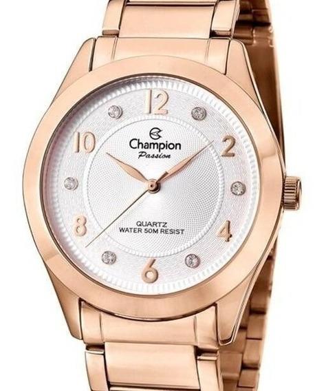 Relógio Champion Feminino Rose Gold - Cn29230z