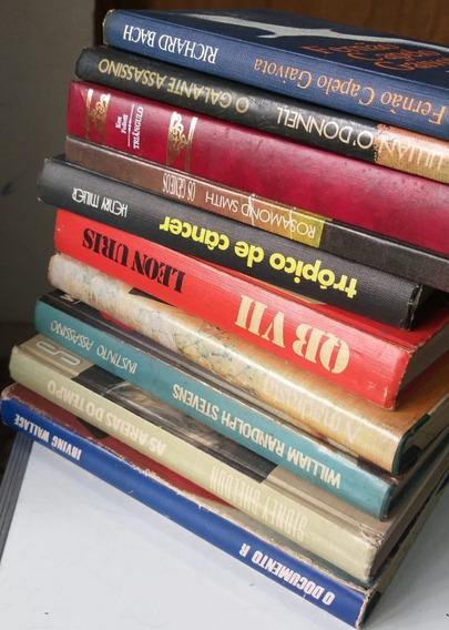 Lote 10 Livros Capa Dura - Círculo Do Livro - Estrangeira