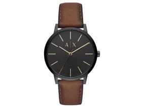 ed8e6612938c Reloj Armani Exchange A x Negro Correa Cuero - Relojes en Mercado ...