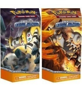 Pned Pokemon Card Game Diamond & Pearl Legends Awakee 2 Deck
