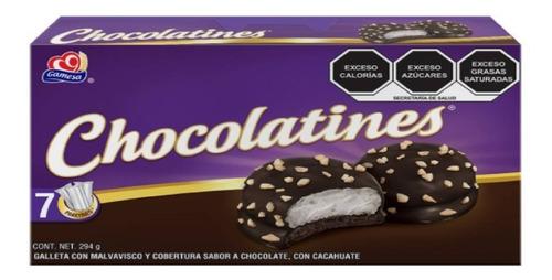 Imagen 1 de 2 de Chocolatines Gamesa Con Malvavisco Y Cobertura De Cacahuate