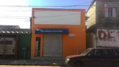 Salão Comercial Para Locação, Jardim Monte Cristo, Suzano. - Sl0005