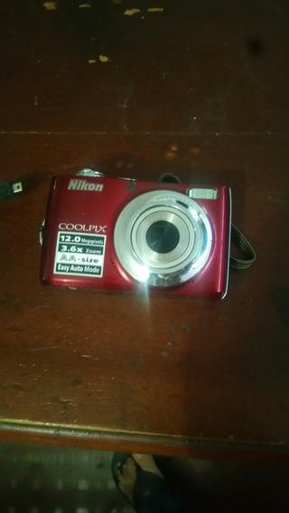 5t Camara Digital Nikon Coolpix L22
