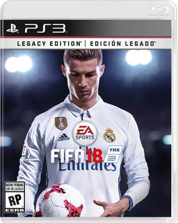 Fifa 18 Ps3 Nuevo Fisico Edicion Legacy
