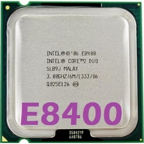 Imagem 1 de 10 de Processador Core 2 Duo E8400 3.0ghz + 4gb Ddr2 800mhz Gamer