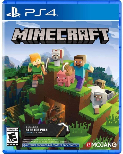 Minecraft - Ps4 - Nuevo - Formato Fisico - Nextgames