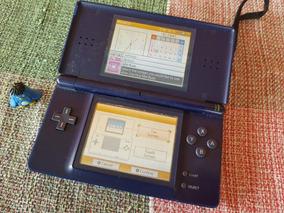 Nintendo Ds Lite Console Azul Leia O Anuncio A1