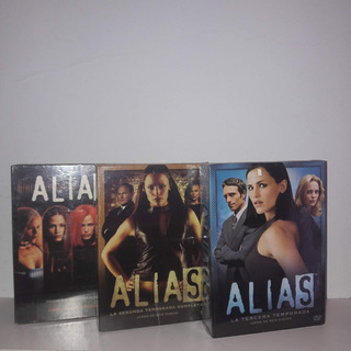 Alias (serie Tv) Temporadas 1-2-3 Originales