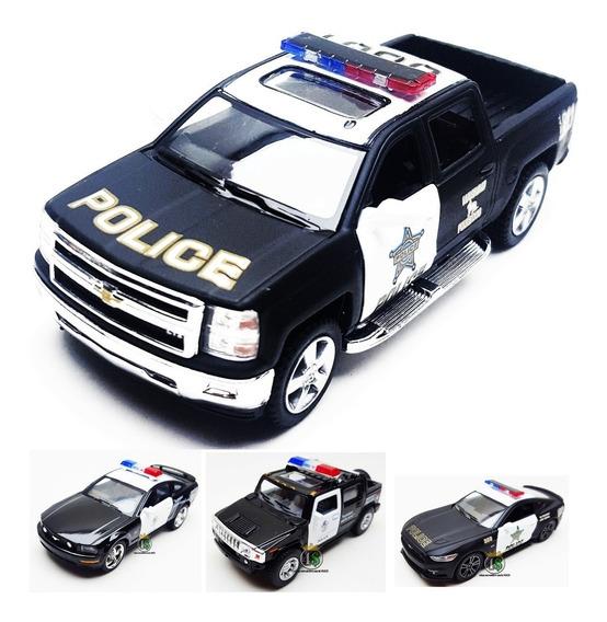 Miniatura Carro Policia Viatura Metal - Avulso Escolha