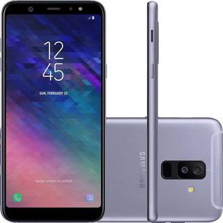 Samsung Galaxy A6+ A605g 64gb 4gb Ram 16mp Prata Vitrine 1