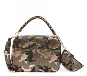 Bolsa Guess Terra Medium Trunk Shoul Camouflage