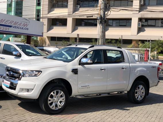 Ford Ranger Limited 2.5 Flex 2017 Top De Linha Unico Dono