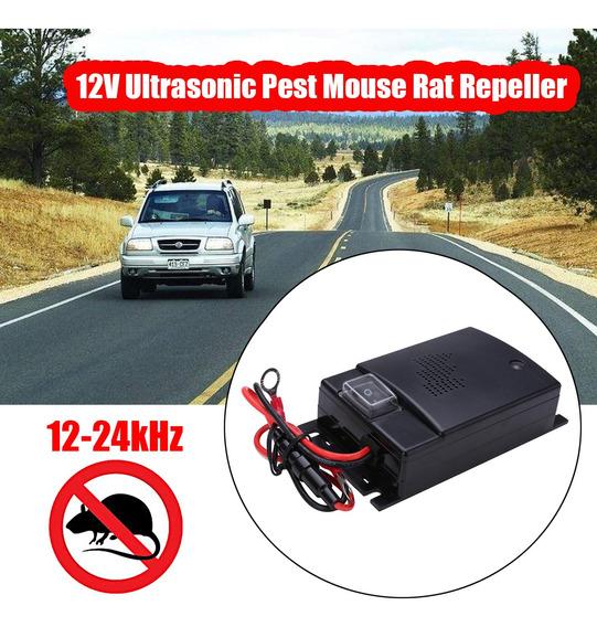 Carro Auto 12 V Ultrasonic Pragas Rato Rato Repelente Gato R