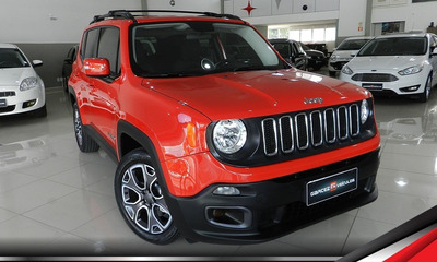 Jeep Renegade Longitude Única Dona 50 Mil Km Top Impecável