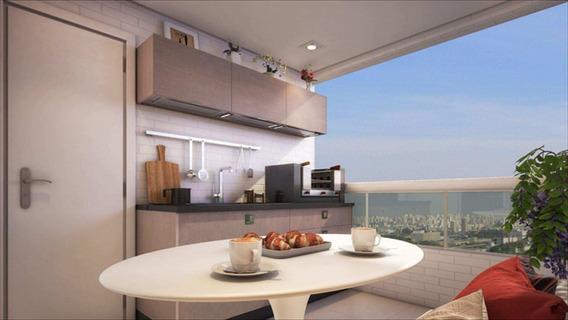 Apartamento Em Vila Guilhermina, Praia Grande/sp De 88m² 2 Quartos À Venda Por R$ 394.128,33 - Ap341172