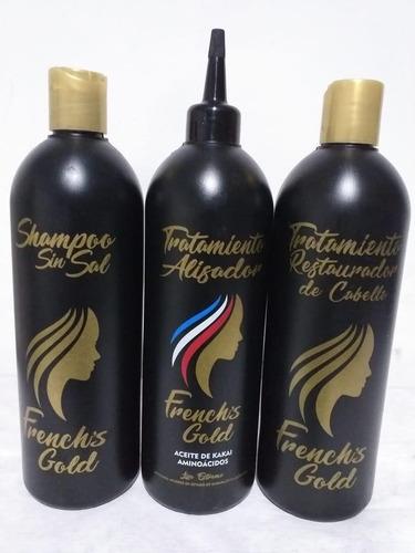 Keratina French Lizz Alisado Frances Kit - mL a $38