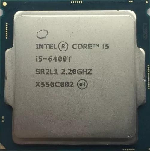 Processador Cpu Intel I5 6400t 6 Geração 2.2ghz
