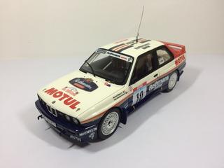 Miniatura Ottomobile Rally - Bmw E30 M3 1987 1/18 Otto Wrc
