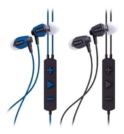 Fone De Ouvido Klipsch Aw-4i Black Headphone, Cor Preto