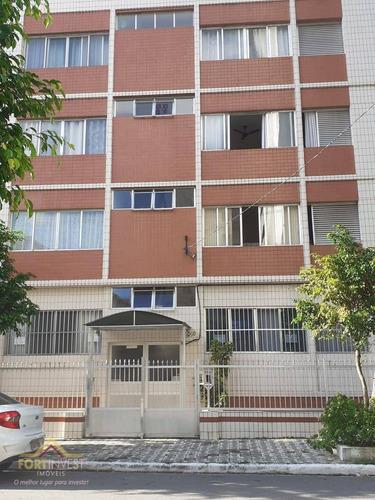 Imagem 1 de 19 de Apartamento Com 3 Dormitórios À Venda, 90 M² Por R$ 240.000,00 - Canto Do Forte - Praia Grande/sp - Ap2533