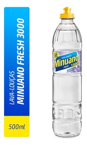 Detergente Lava Louças Minuano Fragrâncias Clear Multiuso