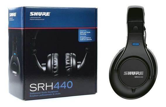 Audifono Profesional Shure Srh-440 Envio Gratis