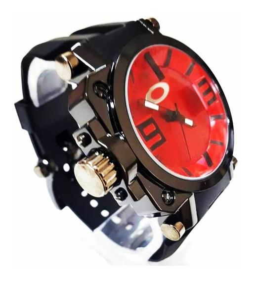 Relógio Masculino Gearbox Titanium Á Prova D