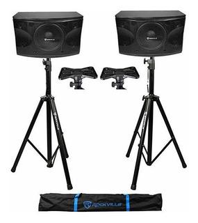 Par Rockville Kps12 12 3-way 1600 Watt Mdf Karaoke Pro Par ®