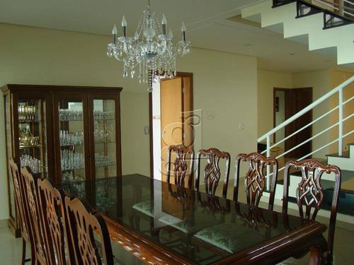 Sobrado À Venda, 302 M² Por R$ 1.400.000,00 - Condomínio Santana Residence - Londrina/pr - So0175