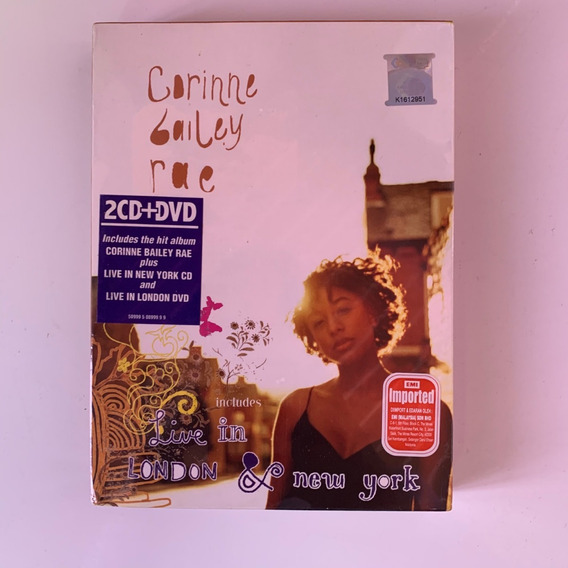 Box Corinne Bailey Rae 2cd + 1 Dvd - Live In London Lacrado