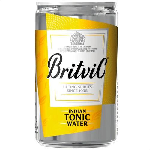 Imagen 1 de 7 de Britvic Agua Tonica Indian Lata - Origen Inglaterra