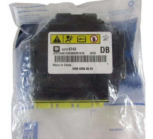 Modulo Sensor Air Bag Chevrolet Nova S10 Genuino Gm 94726743